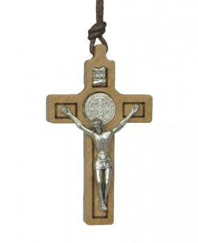 Fio com Crucifixo e Medalha de São Bento