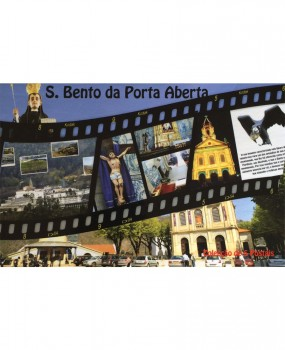 Caixa com 5 postais de S. Bento 2