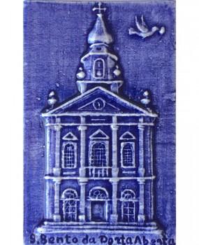 Iman São Bento Basílica em azul