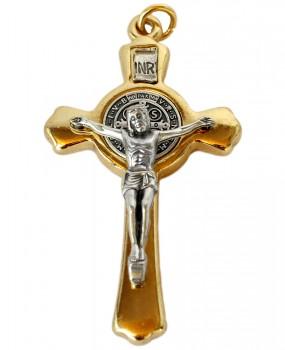 Crucifixo com medalha de São Bento