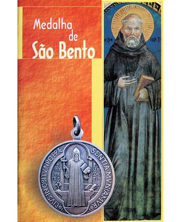 Livro Medalha de São Bento