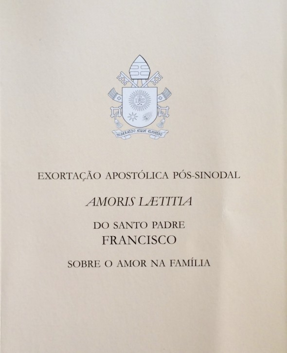 Amoris Laetitia - A Alegria do Amor