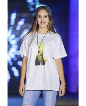 T-shirt com Imagem de S. Bento da Porta Aberta