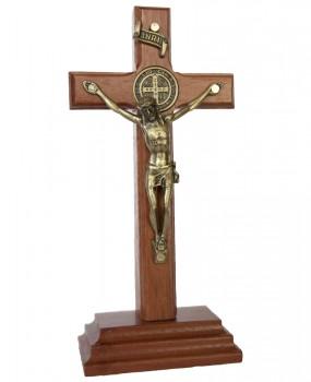 Crucifixo de madeira com Caixa