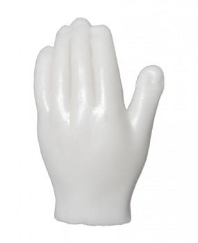 Mão em cera